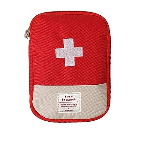 Coscelia Médecine Familiale Sac en Tissu d'Extérieur Portable Médecine Sac Premiers Secours Sac First