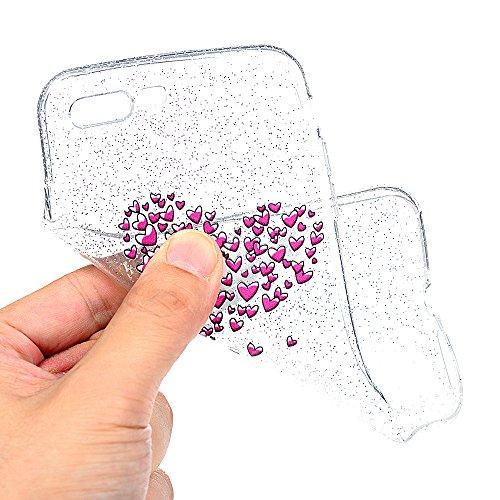 iPhone 7 Plus / iPhone 8 Plus Coque Mavis's Diary Étui Housse Coque de Protection TPU Silicone Gel Antichoc Bumper Original Transparente Phone Case Cover Coloré 5.5'' pour iPhone 7 Plus / iPhone 8 Plu Amour jouer