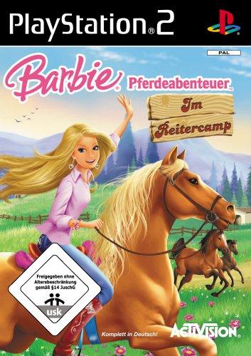 Barbie Pferdeabenteuer: Im Reitercamp [Software Pyramide] (Barbie Ps2)