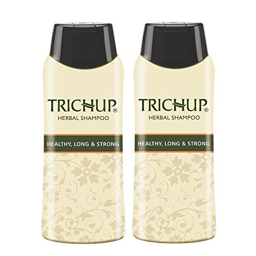 Trichup 60ml Packung mit 2 Herbal Hair Shampoo Natürliches Henna Shampoo für Haar Herbal Scalp Care Kit