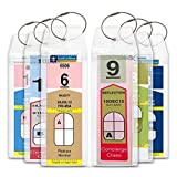 Cruise Tag Caddy Narrow Luggage Tags (8 Tags and Ties)