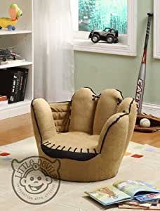 little catchers kinder sessel in baseball handschuhform. Black Bedroom Furniture Sets. Home Design Ideas
