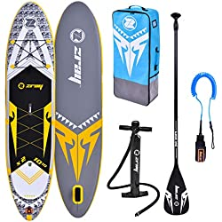 "Zray Sup X-Rider 10'10"" Stand up, Paddle, Planche, Surf, Board Adulte Unisexe, Gris, 330x76x15cm 10''x30''x6''"