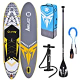 Zray Sup X-Rider 10'10' Stand up, Paddle, Planche, Surf, Board Adulte Unisexe, Gris, 330x76x15cm 10''x30''x6''
