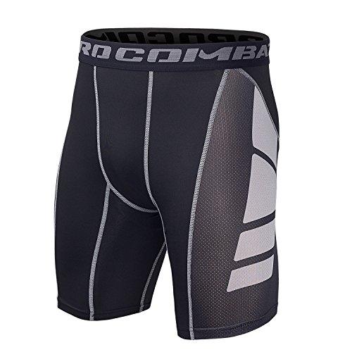 Hivexagon Pantalones Cortos Compresión Media Pierna