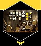 QU HUAI DONG AA Bilderrahmen Europäischen Massivholz Fotowand Wohnzimmer Schlafzimmer Bilderrahmen Wandrahmen Wandrahmen Kreative Kombinationen Moderne Einfache Restaurants Fotowände Home (Farbe : B)