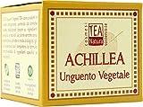 TEA NATURA - Bálsamo con Achillea - Calmante, Astringente y Coagulante para Piel Muy Agrietada, Forúnculos, Excoriaciones, Hemorroides - 50 ml