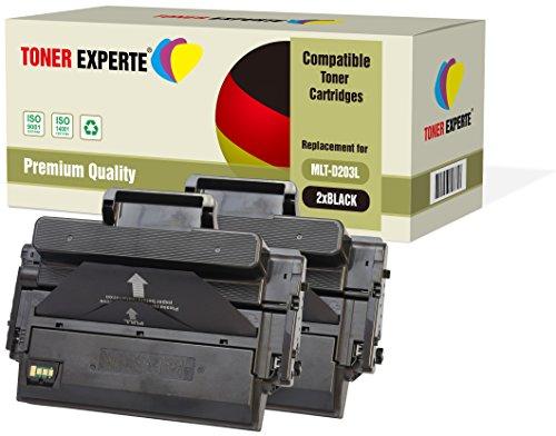 2-er Pack TONER EXPERTE® Premium Toner kompatibel zu MLT-D203L für Samsung ProXpress SL-M3320 M3320ND SL-M3370 M3370FD M3370FW SL-M3820 M3820ND M3820DW SL-M3870 M3870FW SL-M4020 SL-M4070 M4070FR - Samsung 2er-pack