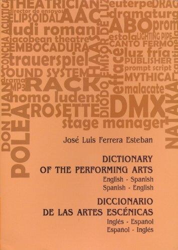 Dictionary of the Performing Arts/Diccionario de Las Artes Escenicas