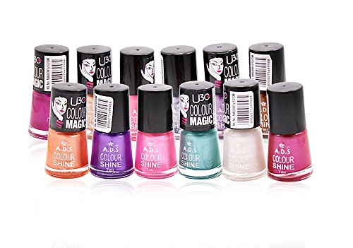 ADS Matte Nail Polish Set of 12