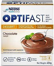 حلوى بنكهة الشوكولاتة منخفضة السعرات الحرارية للحمية من اوبتيفاست، 424 غرام