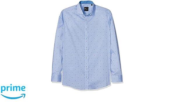 Venti Herren Businesshemd 172661000, (Blau 100), 40  Amazon.de  Bekleidung 717e66c27e