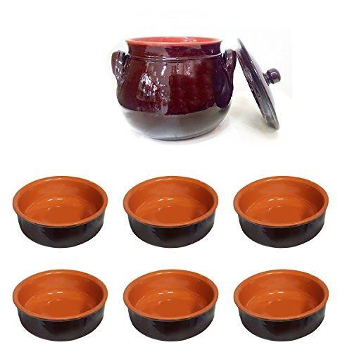 set-6-coupelles-14-cm-sans-manche-bol-en-terre-cuite-recipient-rond-15-cm-avec-couvercle-de-la-coli-