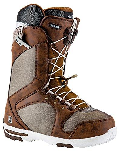 Nitro Damen Monarch Tls Snowboard Boots, Braun (Chocolate-W.grey), 39.5