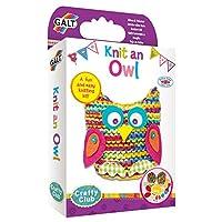 Galt Toys Knit an Owl Knitting Kit, Craft Kits for Children