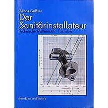 Der Sanitärinstallateur, Technische Mathematik