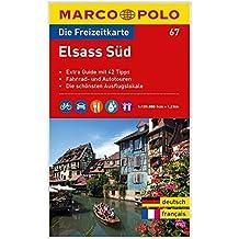 MARCO POLO Freizeitkarte Elsass Süd 1:120:000