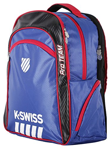 K-Swiss - Hypercourt Pro Team Bagpack, color azul ,negro