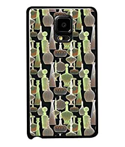 PrintVisa Designer Back Case Cover for Samsung Galaxy Note Edge :: Samsung Galaxy Note Edge N915Fy N915A N915T N915K/N915L/N915S N915G N915D (alcoholic bottle black pink green brown)