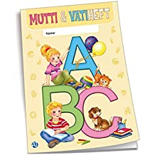 "DIN A6 68 Seiten Vatiheft /""Giraffe/"" Muttiheft"