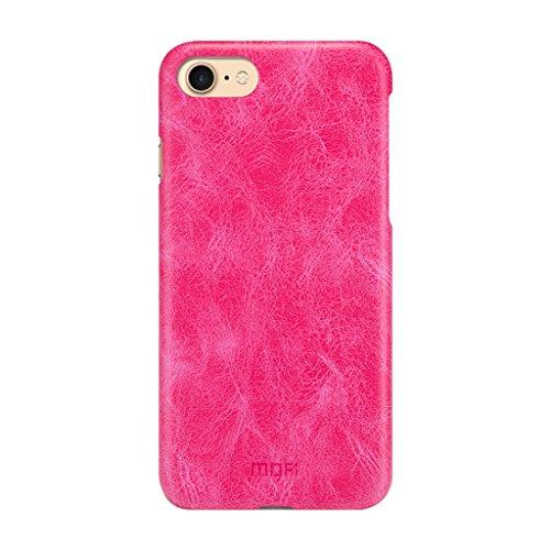 KaiTelin Apple iPhone 7 Case - Ultra Dünne Hartschale Schutzhülle Back Cover Case für Apple iPhone 7 - Braun Rose