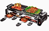 #2: Dtes electric barbeque grill With 2 electric frying pan non stick with 4 electric omlette pan with Roasting Function