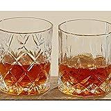 Whiskey-Glas H: 8cm Glas klar klar 2-fach sortiert 6-teilig