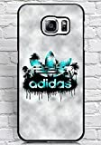Floralmaycase Hülle Cover, Samsung Galaxy S6 Edge Plus Hülle Adidas Originals Brand Logo Theme Hard Plastic Shell Hülle Cover for Samsung Galaxy S6 Edge Plus