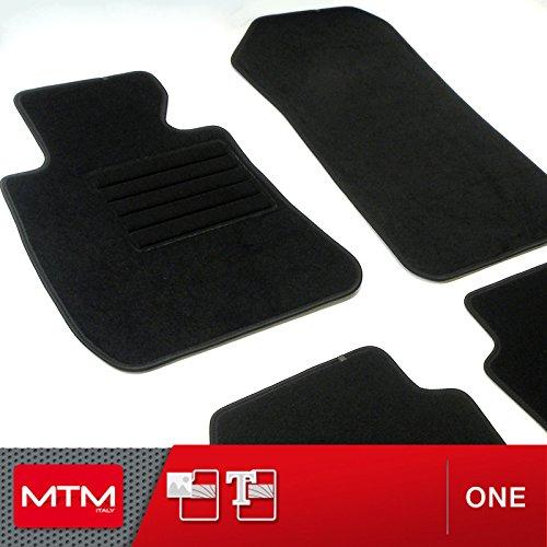 Mtm tappetini serie 3 touring (e91) dal 09.2005-2011 su misura come originali in velluto, battitacco in moquette, bordo antiscivolo, cod. one 342