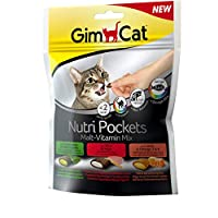 Gimborn Gimcat Nutri Pockets Malt Vitamin Mix, 150 gm