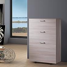 Cama plegable individual con somier, colchón y compartimento interno de almacenaje.Link 539,