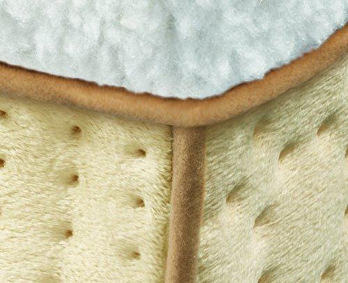 Beurer FW 20 Fußwärmer, mit Teddyfutter, 3 Temperaturstufen, Abschaltautomatik, waschbarer Fußsack - 6