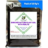 [Sponsored]Turtye® Enriched Nature Plant Soil With Perlite - 10 Kg's - Organic Fertilizer For All Crops
