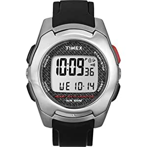 Timex Full-Size Health Touch Heart Rate Monitor Watch- T5K470