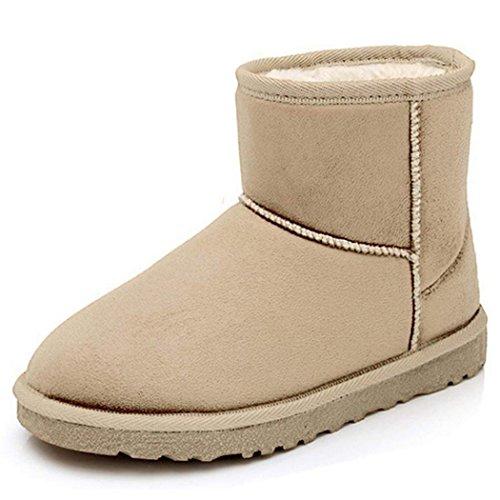 zearo-damen-schlupfstiefel-bequeme-klassiche-stiefeletten-hidden-wedges-boots-wildlederoptik-40-beig