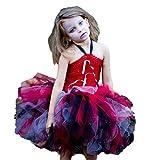 Kleinkind Kinder Baby Mädchen Halloween Cosplay Tutu Kleid Party Kleidung