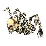 Scheletro di teschio di ragno di Halloween Decorare, Modello di scheletro mostro di otto artigli raccapricciante, Forniture per feste di Halloween Decorazioni orribili Scena di spavento Puntelli