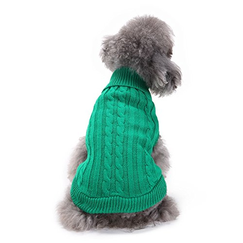 f59832f62 Zedo 1 Pcs Pet Supplies Winter Autumn Pet Sweater Pappy Cute Warm Dog Cat  Clothes Outdoor