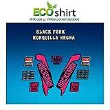Ecoshirt 6K-AMRZ-E318 Stickers Fork Rock Shox Xc32 2017 Am122 Autocollants pour...
