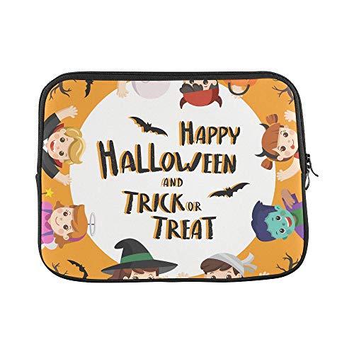 Kostüm Halloween Benutzerdefinierte - QuqUshop Design Benutzerdefinierte Kinder Gekleidet Halloween Kostüm Gehen Hülse Weiche Laptop Tasche Haut Für MacBook Air 11