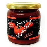LASOVLI Tomatenketchup aus der Manufaktur mit finnischem Xylit gesüßt, 408 ml Glas / Ohne Zuckerzusatz