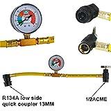 JTY KFZ R134A Klimaanlage Klimaschlauch Kaeltemittel Manometer Druckmanometer