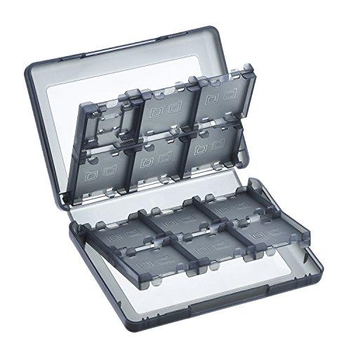 Mudder 28 en 1 Estuche de Tarjetas de Juego de Plástico Organizador Caja de Almacenaje de Tarjetas para Nintendo DS Lite, Dsi, Dsi ll