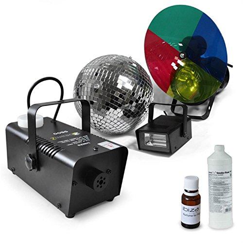 Party Lichtset Deneb Stroboskop Nebelmaschine