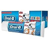 Oral-B Junior Star Wars Pasta dentifricio, 6+ anni-75ML