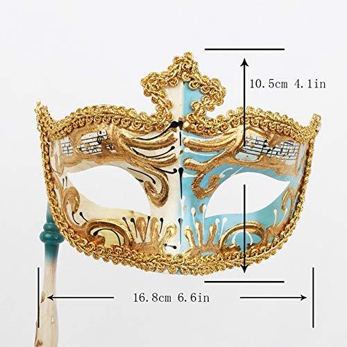 Venezianische Masquerade Ball Kleider - MONWSE Satz Damen Venedig Venezianischen Auge