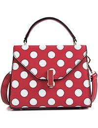 OUFENLANDI New Dot Handbag Doctor Woman Clutch Bag Large Capacity Shoulder Bag Crossbody Bags Vintage Stylish...
