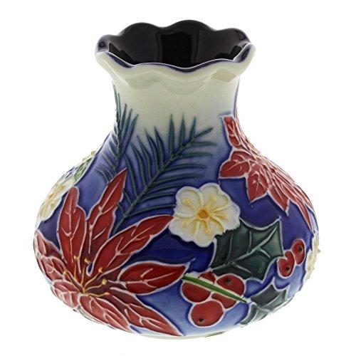 Old Tupton Ware Poinsettia Pattern 7cm Vase