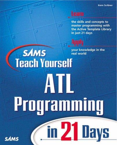 Sams Teach Yourself ATL Programming in 21 Days