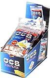 OCB 15443-Cartine da Sigaretta con Filtro Sottile, 150 Pezzi, 6 mm, Giallo, m